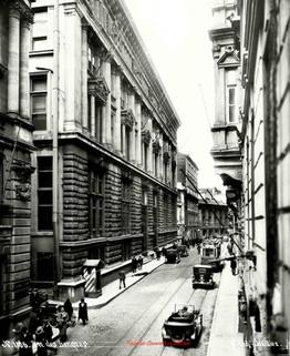 Rue des Banques 1106. 1900s