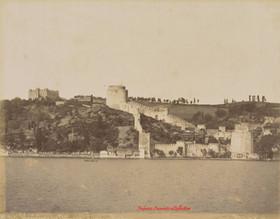 Vue generale des Chateaux d'Europe au Bosphore 241. 1890s