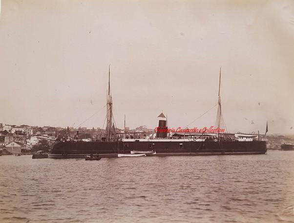 Stationnaire Muin-i-Zaffer 1890s