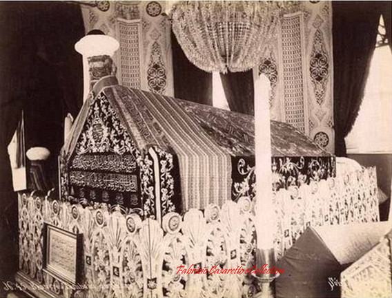 Brousse. Tombe du Sultan Orkhan 45. 1890s