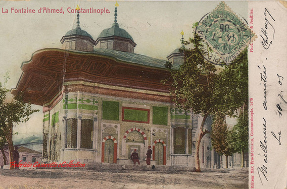 Fontaine du Sultan Ahmed, Constantinople. 1890s