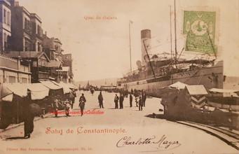 Quai de Galata 870 . 1900s