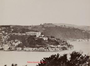 Vue de Kandilli au Bosphore. 1890s