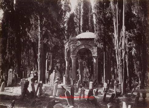 Tombeau du Cheval au cimetiere de Scutari 573. 1890s