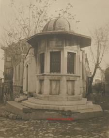 Turbe de Sinan l'architecte Constantinople 1. 1900s
