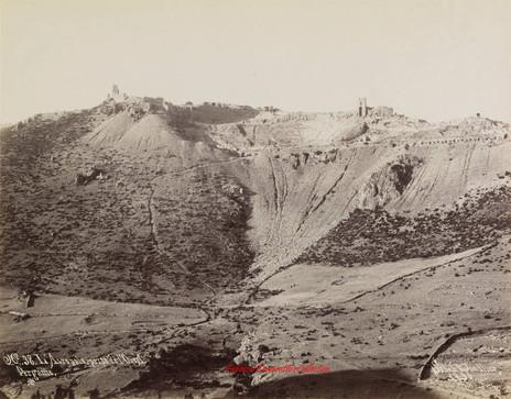 L'Acropole, prise de l'Ouest, Pergame, 38. 1890