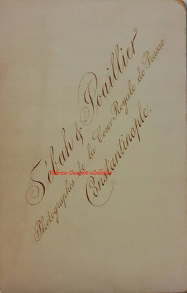 Verso photo 1900s 2