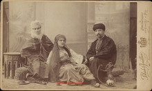 Famille Turque. 1880s