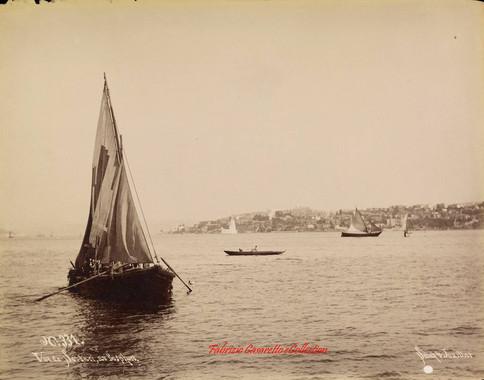 Vue de Scutari au Bosphore 331. 1890s