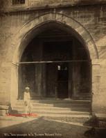 Porte principale de la Mosquee Mehmed Pacha 827. 1890s