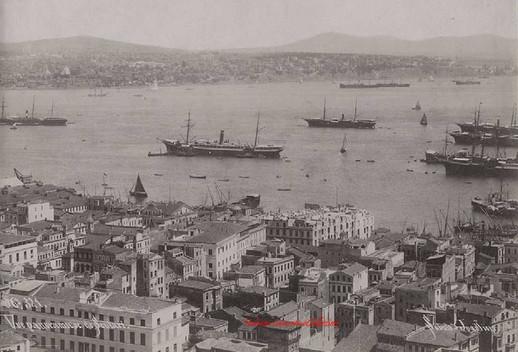 Vue panoramique de Scutari 321. 1890s