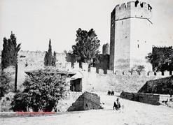 Entree des Sept Tours Constantinople. 1890s
