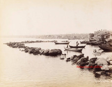 Vue de Koum Kapou sur la mer de Marmara 433. 1890s