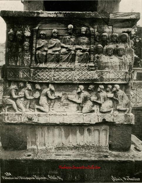 Piedestal de l'Obelisque de Theodose. Cote O 180. 1880s