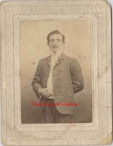 Un homme. 1890s