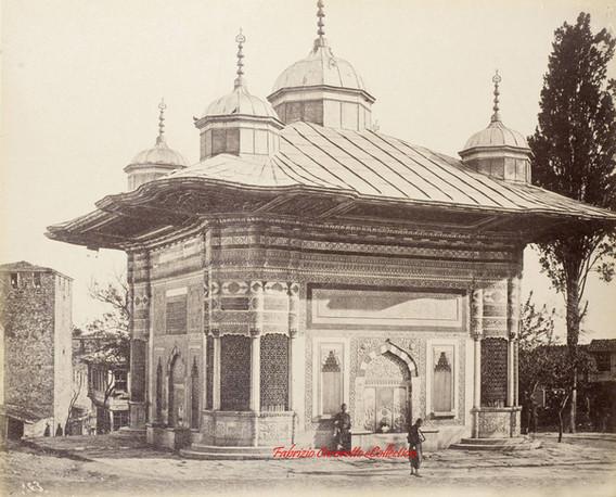 Fontaine du Sultan Ahmed 163. 1890s