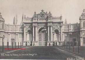 Porte du Palais de Dolma Bagtche 345. 1900s