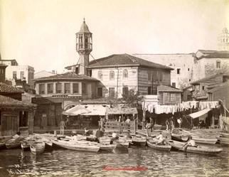 Vue de Yagh Capeu sur la Corne d'Or 53. 1890s