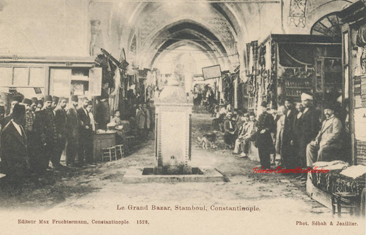 Le Grand Bazar, Stamboul, Constantinople. 1890s