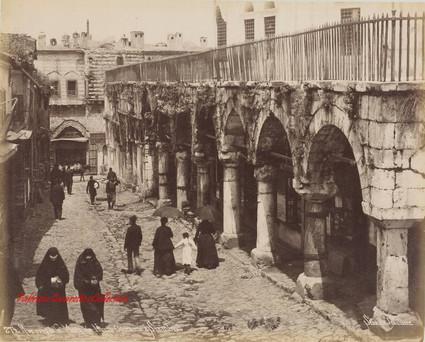 Rue pres de la mosquee Nouri Osmanie a Stamboul 274. 1890s