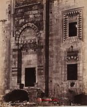 Porte et Fenetres de la grande Mosquee. Ephese 86. 1890