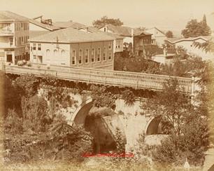 Le pont de Set Bachi. Brousse 60. 1890s