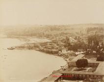 Vue panoramique d'Eyoub sur la Corne d'Or 45. 1880s