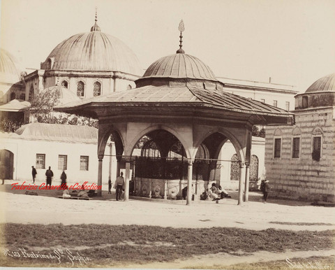 Fontaine de Ste Sophie 123. 1890s