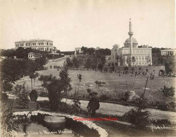 Palais Yildiz et mosquee Hamidie 543. 1890s