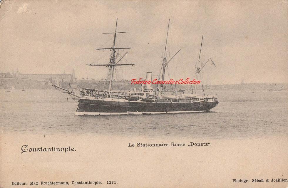 Le Stationnaire Russe Donetz. 1890s