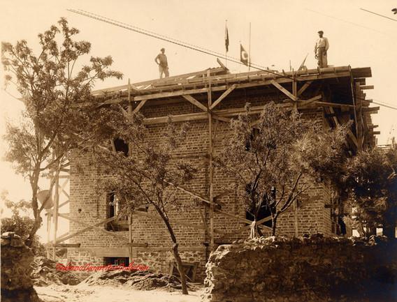 Mosquee sur l'ile Halki. 1900s