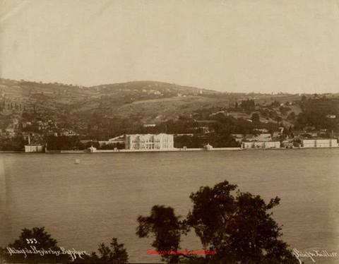 Palais de Beylerbey. Bosphore 353. 1890