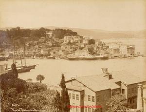 Vue de Therapia au Bosphore 394. 1890s