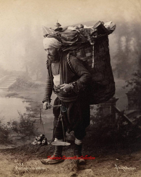Marchand de pommes 228. 1880s