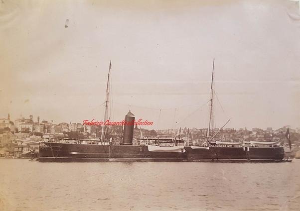 Stationnaire Feth-i-Bulend 1890s