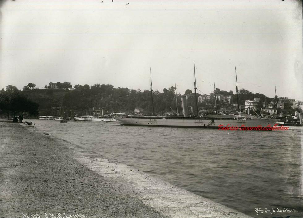 S.M.S. Loreley 653.  1890s