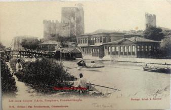 Les Eaux Douces d'Asie, Bosphore, Constantinople. 1890s