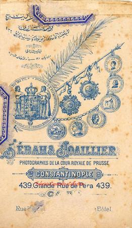 Verso photo 1890s 1