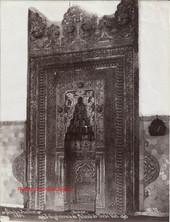 Vue generale du Mihrab du Turbe Vert. Brousse 92 bis. 1894