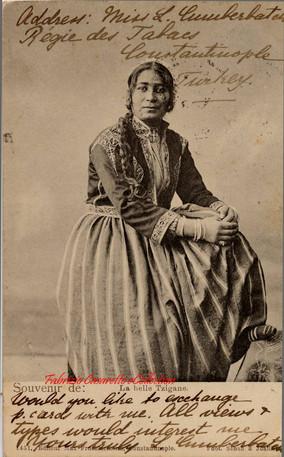 La belle Tzigane. 1890s