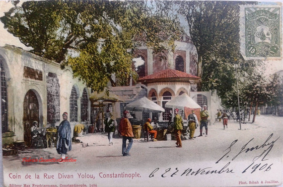 Coin de la Rue Divan Yolou, Contantinople. 1890s