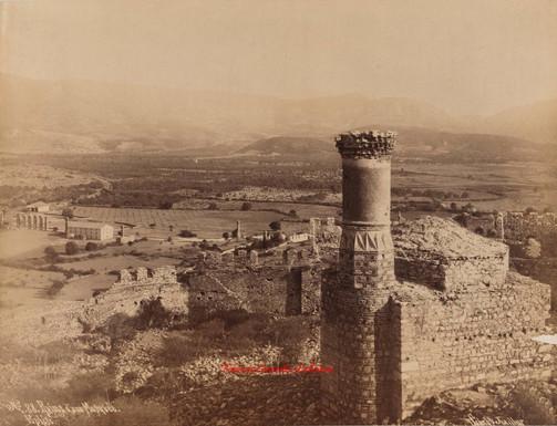 Ruines d'une Mosquee. Ephese 88. 1890
