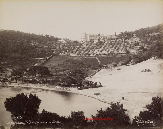 Iles des Princes. L'Ecole de commerce a Halki 13. 1880s