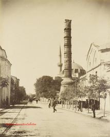 Colonne brulee de Constantin 182. 1890s