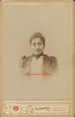Une femme agee. 1880s