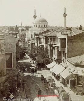 Rue d'Ak Serai et la Mosquee Validee xxx 205. 1895