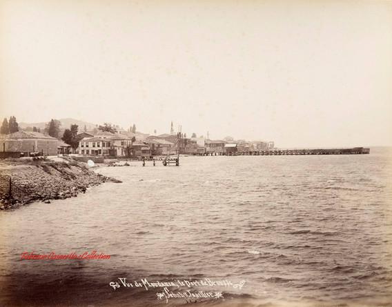 Vue de Moudania, le Port de Brousse 1. 1894