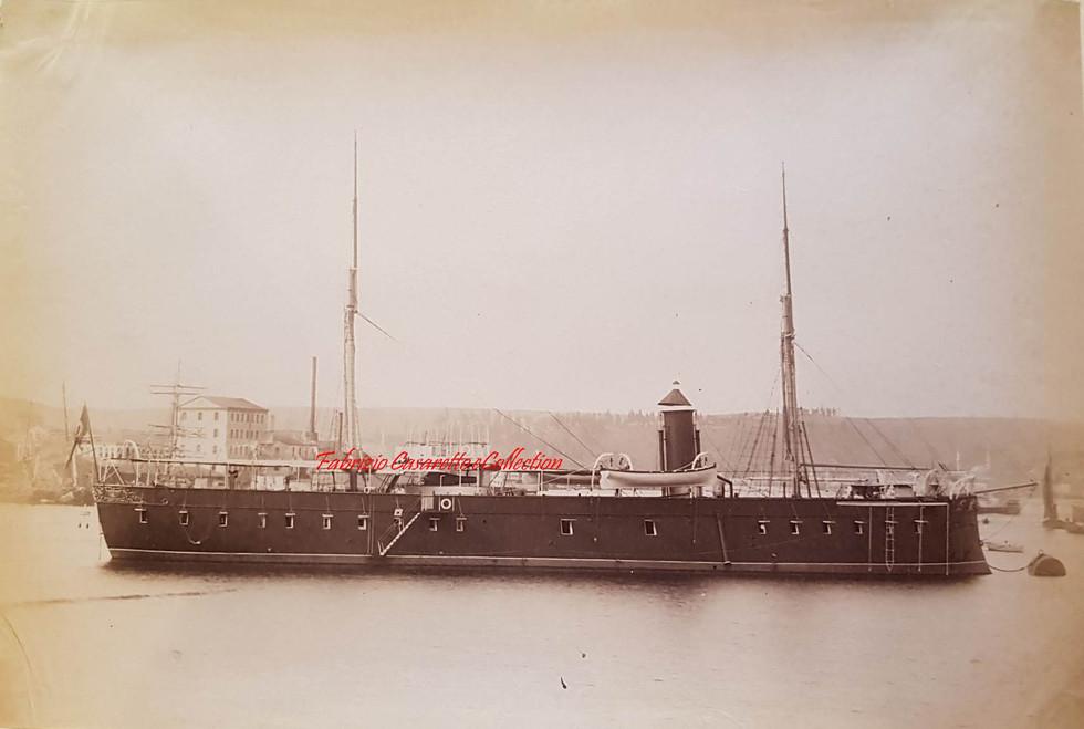 Stationnaire Nedjim-i-Chevket 1890s