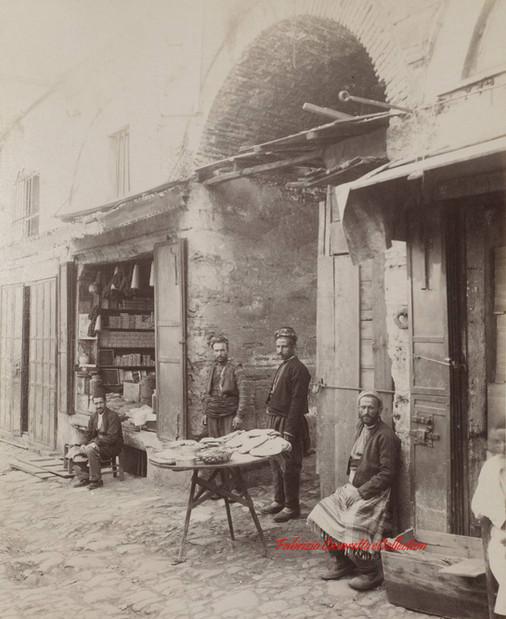 Marchands de pide. 1890s