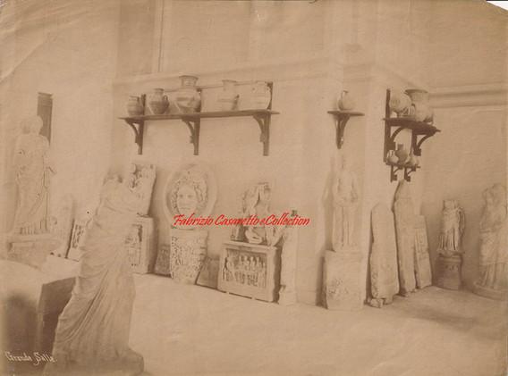 Grande Salle (Musee Archeologique). 1880s